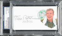 "Richard ""Steve"" Ritchie Signed 3x5 Cut (PSA Encapsulated) at PristineAuction.com"