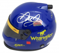 Dale Earnhardt Jr. Signed NASCAR Wrangler #3 Mini Helmet (JSA COA) at PristineAuction.com