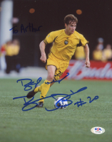 Brian McBride Signed Columbus Crew 8x10 Photo (PSA COA) at PristineAuction.com