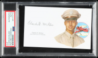 Charles McGee Signed 3x5 Cut (PSA Encapsulated) at PristineAuction.com