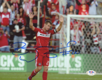 Brian McBride Signed Chicago Fire 8x10 Photo (PSA COA) at PristineAuction.com