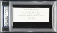 William R. Lawley Jr. Signed 2x5 Cut (PSA Encapsulated) at PristineAuction.com