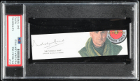 Patrick Hine Signed 1x5 Cut (PSA Encapsulated) at PristineAuction.com