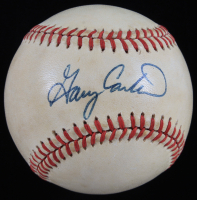 Gary Carter Signed ONL Baseball (JSA COA) (See Description) at PristineAuction.com