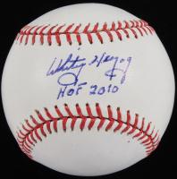 "Whitey Herzog Signed OML Baseball Inscribed ""HOF 2010"" (JSA COA) at PristineAuction.com"