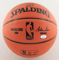 "David Thompson Signed NBA Game Ball Series Basketball Inscribed ""Skywalker"" (JSA COA) at PristineAuction.com"