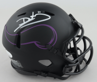 Daunte Culpepper Signed Vikings Eclipse Alternate Speed Mini-Helmet (JSA COA) at PristineAuction.com