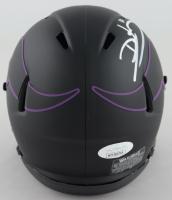 Daunte Culpepper Signed Vikings Eclipse Alternate Speed Mini-Helmet (JSA COA) at PristineAuction.com