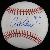 """Al Kaline Signed OML Baseball Inscribed """"HOF 80"""" (JSA COA) (See Description) at PristineAuction.com"""