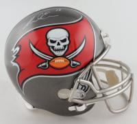 Mike Evans Signed Buccaneers Full-Size Helmet (JSA COA) (See Description) at PristineAuction.com