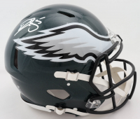 Donovan McNabb Signed Eagles Full-Size Authentic On-Field Speed Helmet (Beckett COA) at PristineAuction.com