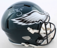 Donovan McNabb Signed Eagles Full-Size Speed Helmet (Beckett COA) at PristineAuction.com
