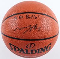 "Mohamed Bamba Signed NBA Game Ball Series Basketball Inscribed ""I Be Ballin"" (Beckett COA) at PristineAuction.com"