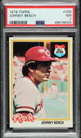 Johnny Bench 1978 Topps #700 (PSA 7) at PristineAuction.com