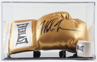Mike Tyson Signed Everlast Boxing Glove With Display Case (PSA COA) at PristineAuction.com