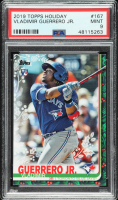 Vladimir Guerrero Jr. 2019 Topps Holiday #167 RC (PSA 9) at PristineAuction.com