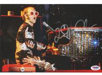 Elton John Signed 8.5x11 Photo (PSA COA) at PristineAuction.com