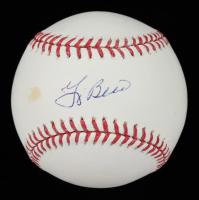 Yogi Berra Signed OML Baseball (JSA COA) (See Description) at PristineAuction.com