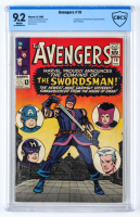 "1965 ""The Avengers"" Issue #19 Marvel Comic Book (CBCS 9.2) at PristineAuction.com"
