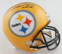 """Rod Woodson Signed Steelers Full-Size Helmet Inscribed """"HOF 09"""" (JSA COA) (See Description) at PristineAuction.com"""