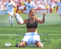 "Brandi Chastain Signed Team USA 8x10 Photo Inscribed ""Dreams Do Come True!"" & ""USA"" (PSA COA) at PristineAuction.com"