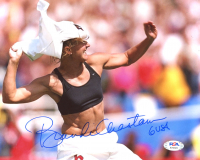 "Brandi Chastain Signed Team USA 8x10 Photo Inscribed ""USA"" (PSA COA) at PristineAuction.com"