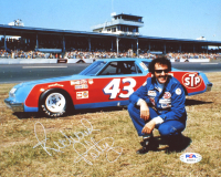 Richard Petty Signed NASCAR 8x10 Photo (PSA COA) at PristineAuction.com