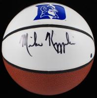 Mike Krzyzewski Signed LE Duke Blue Devils Logo Basketball (Steiner Hologram) at PristineAuction.com