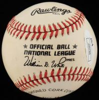 Billy Herman Signed ONL Baseball (JSA Hologram) at PristineAuction.com