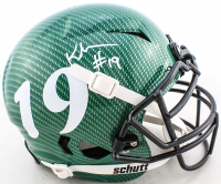 Keyshawn Johnson Signed Full-Size Authentic On-Field Hydro-Dipped Vengeance Helmet (JSA COA) at PristineAuction.com