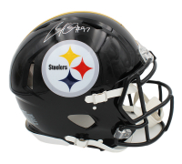 Cameron Heyward Signed Steelers Full-Size Authentic On-Field Speed Helmet (Radtke COA) at PristineAuction.com