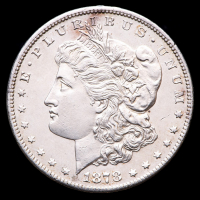1878-S Morgan Silver Dollar at PristineAuction.com
