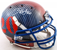Zack Moss Signed Full-Size Authentic On-Field Hydro-Dipped Helmet (Beckett COA) at PristineAuction.com