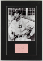 """Gary Cooper Signed 11x16 """"The Pride of the Yankees"""" Custom Matted Cut Display (Beckett LOA) at PristineAuction.com"""