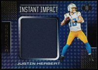 Justin Herbert 2020 Panini Illusions Instant Impact Jerseys #3 at PristineAuction.com