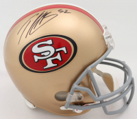 Anquan Boldin Signed 49ers Full-Size Throwback Helmet (JSA COA) at PristineAuction.com