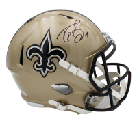 Drew Brees Signed Saints Full-Size Speed Helmet (Beckett COA) at PristineAuction.com