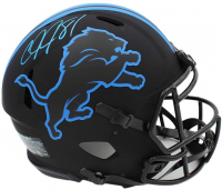Calvin Johnson Signed Lions Full-Size Authentic On-Field Eclipse Alternate Speed Helmet (Radtke COA) at PristineAuction.com