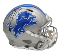 Calvin Johnson Signed Lions Full-Size Authentic On-Field Speed Helmet (Radtke COA) at PristineAuction.com