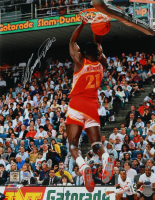 Dominique Wilkins Signed Hawks 16x20 Photo (Pro Player Hologram) at PristineAuction.com