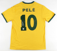 Pele Signed Jersey (Beckett COA & PSA Hologram) at PristineAuction.com