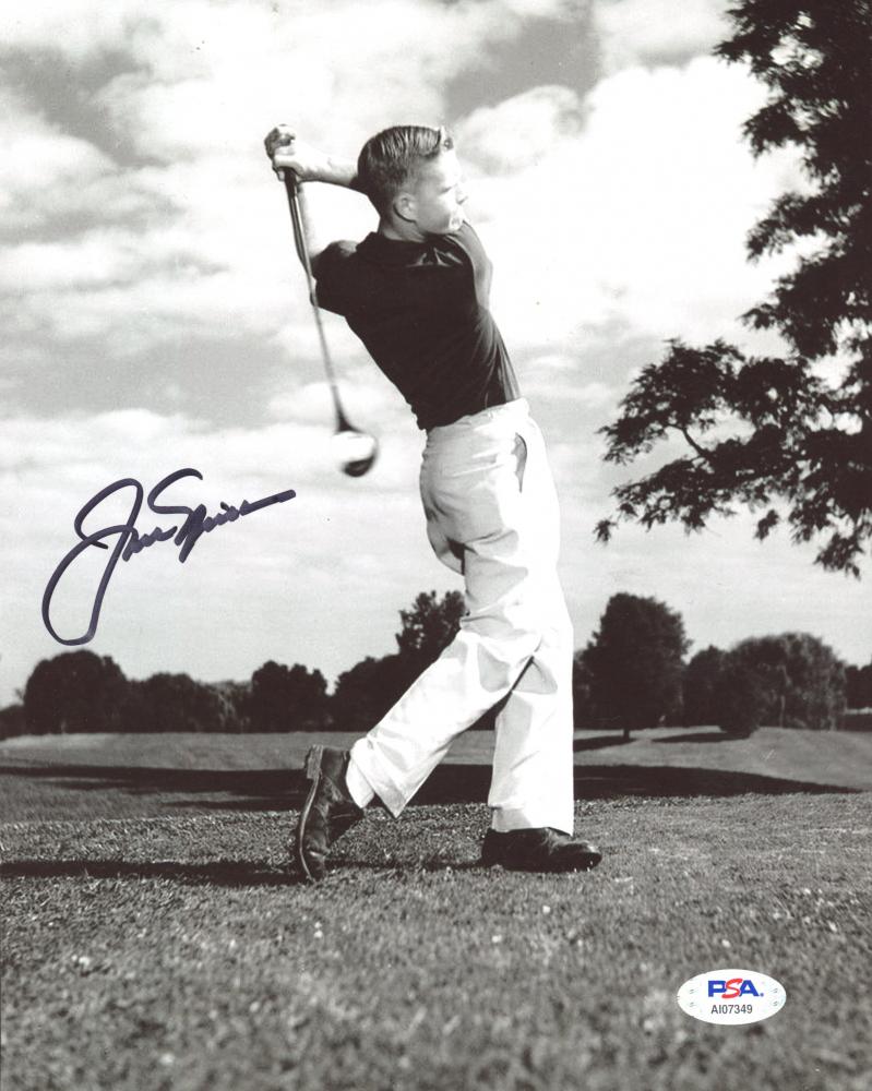Jack Nicklaus Signed 8x10 Photo (PSA Hologram) at PristineAuction.com