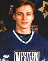 Sergei Fedorov Signed 8x10 Photo (PSA COA) at PristineAuction.com