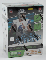 2020 Panini Absolute Football Blaster Box of (8) Packs at PristineAuction.com
