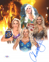 Charlotte Flair Signed WWE 8x10 Photo (PSA COA) at PristineAuction.com