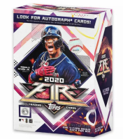2020 Topps Fire Baseball Blaster Box with (7) Packs at PristineAuction.com