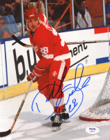 Dallas Drake Signed Red Wings 8x10 Photo (PSA COA) at PristineAuction.com