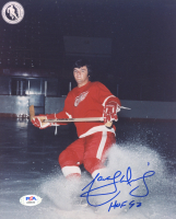 """Marcel Dionne Signed Red Wings 8x10 Photo Inscribed """"HOF 92"""" (PSA COA) at PristineAuction.com"""