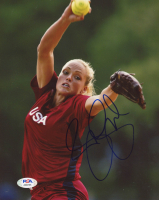 Jennie Finch Signed Team USA 8x10 Photo (PSA COA) at PristineAuction.com