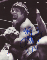 "Jerry ""The King"" Lawler Signed 8x10 Photo (PSA COA) at PristineAuction.com"